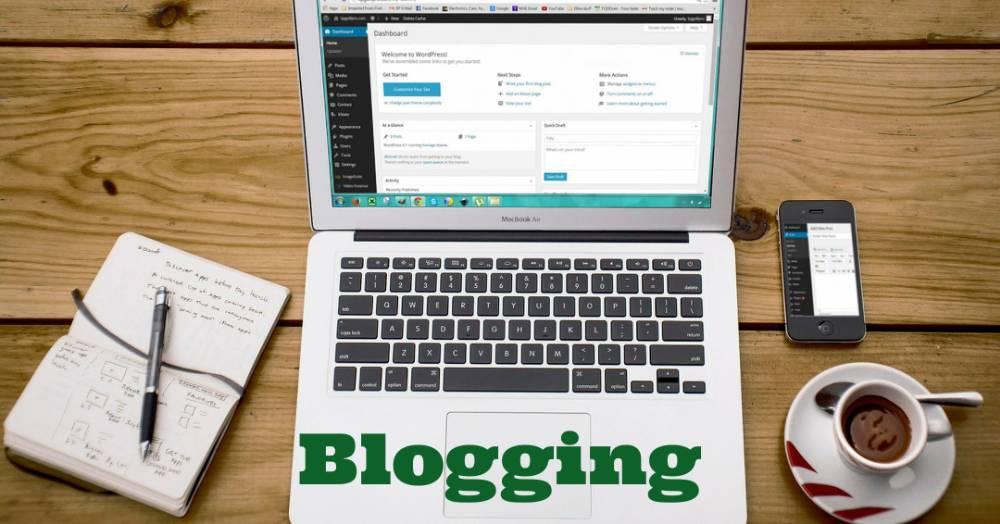 ब्लॉगिंग करें
