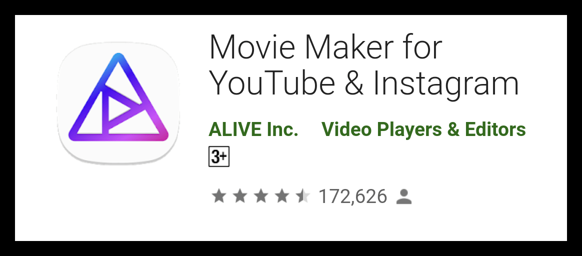 Movie Maker for YouTube & Instagram