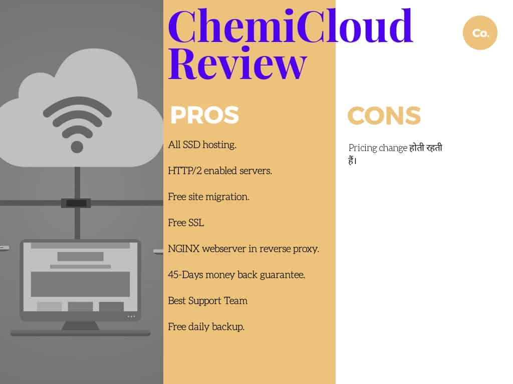 Pros & Cons of ChemiCloud