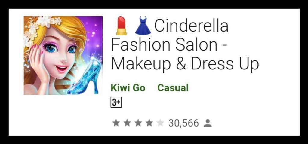 💄👗Cinderella Fashion Salon - Makeup & Dress Up