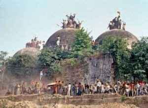 राम मंदिर vs बाबरी मस्जिद