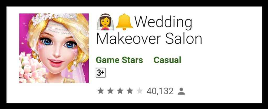 👰🔔Wedding Makeover Salon