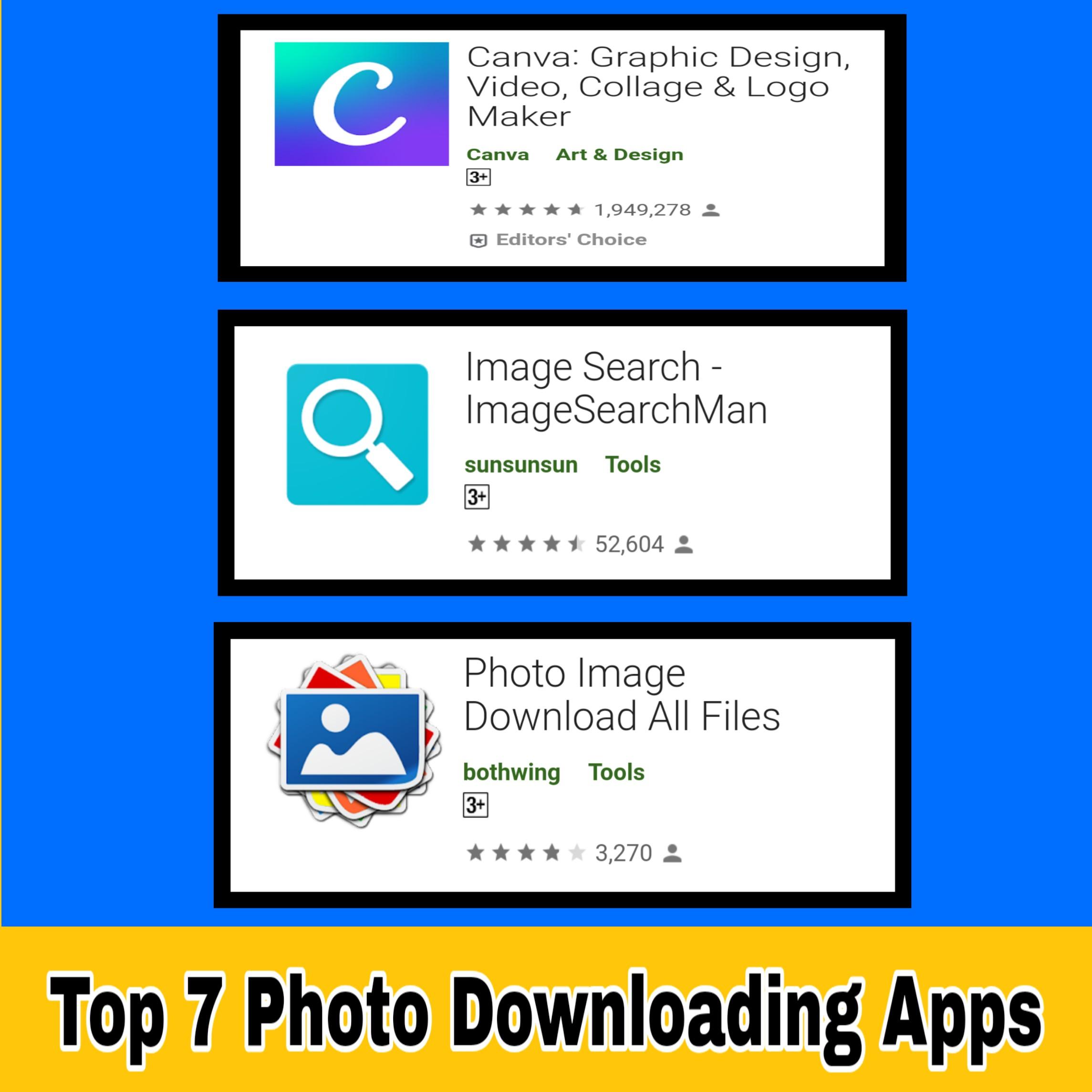 Photo Download करने वाला Apps