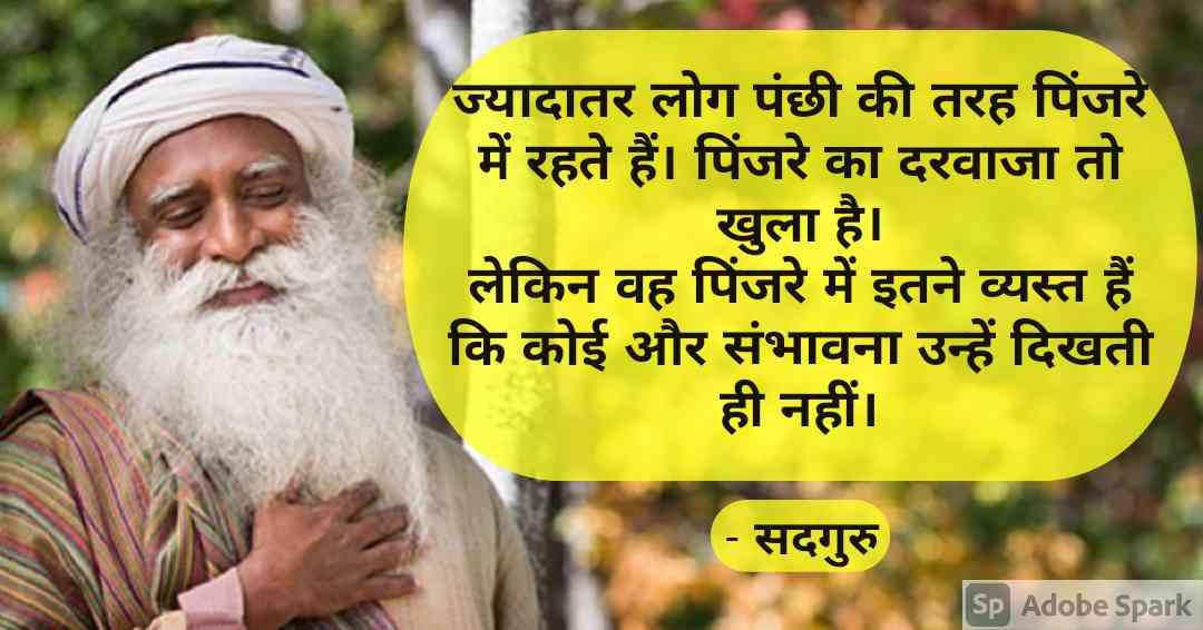 1. Sadhguru Quotes in Hindi