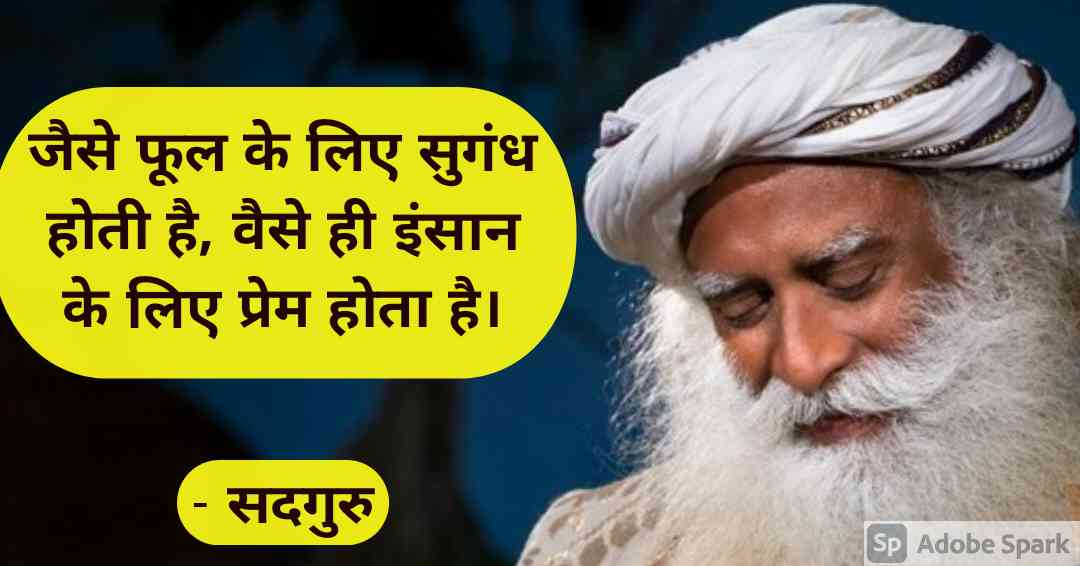 15. Sadhguru Quotes in Hindi
