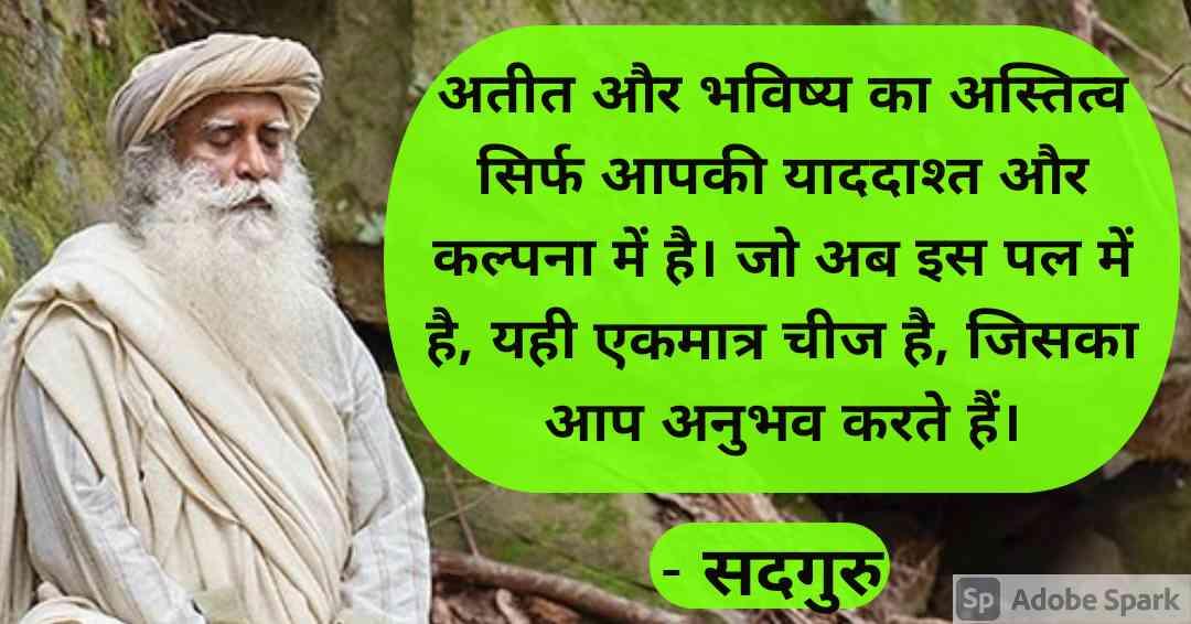 16. Sadhguru Quotes in Hindi