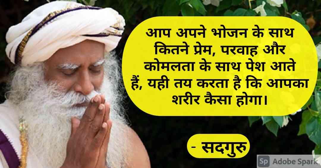 9. Sadhguru Quotes in Hindi
