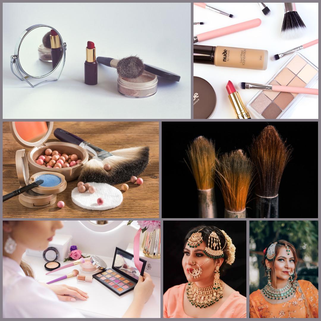 मेकअप का सामान की लिस्ट - Makeup Accessories List in Hindi