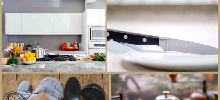 रसोई के सामान की लिस्ट