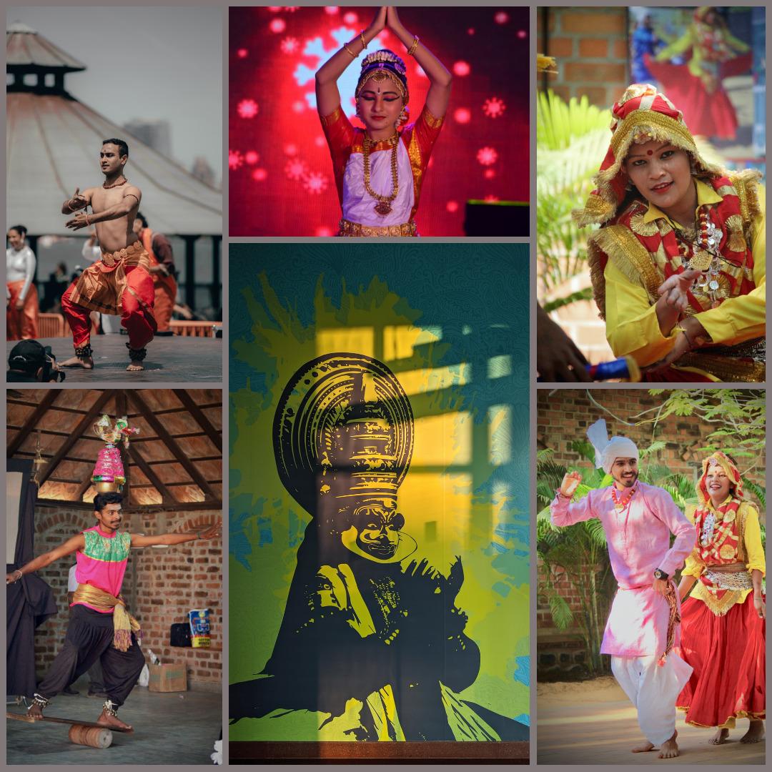 Folk Dances of India in Hindi