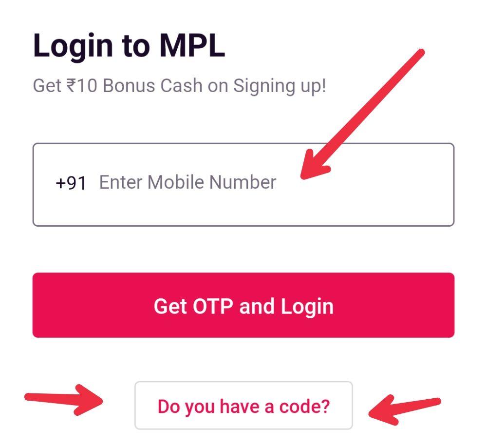 MPL login