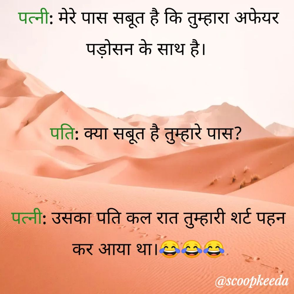 6. Double Meaning Jokes in Hindi